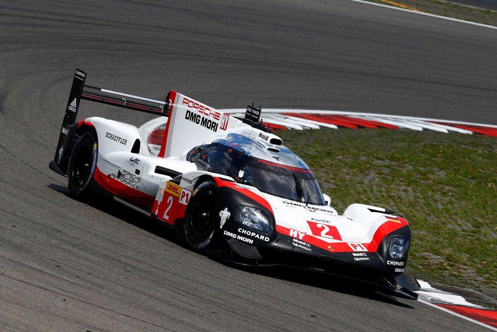 Porsche 919 Hybrid, Porsche LMP Team: Timo Bernhard, Brendon Hartley, Earl Bamber