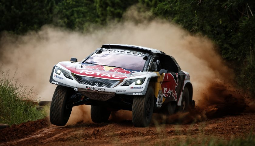 304 SAINZ CARLOS (esp) CRUZ LUCAS (esp) PEUGEOT TEAM PEUGEOT TOTAL 3008 DKR action during the Dakar 2017 Paraguay Bolivia Argentina , Scrutineering / Vérifications from December  30 to 31 2016 at Asuncion, Paraguay - Photo Florent Gooden / DPPI