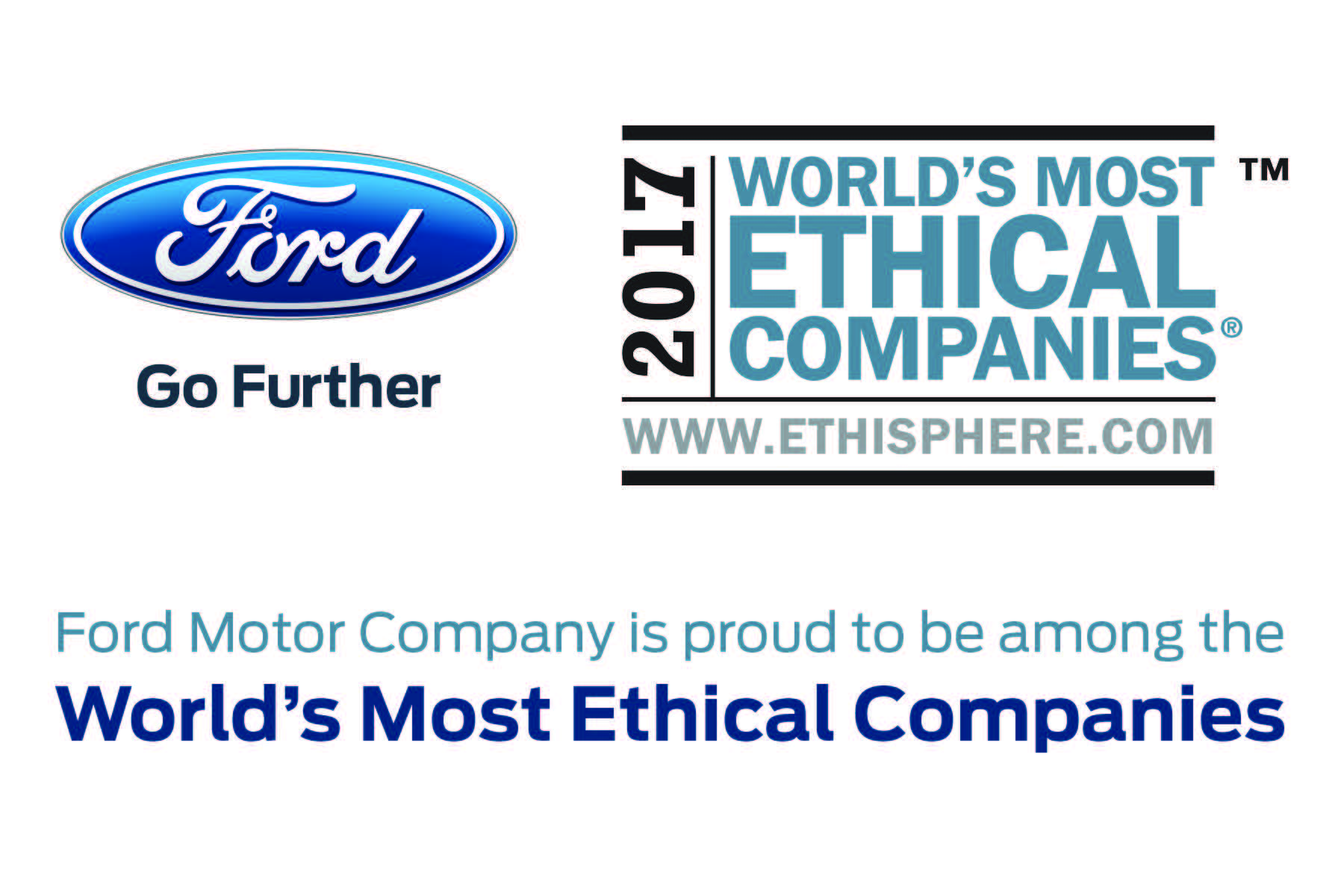 2017 marks the eighth year in a row Ford Motor Company has been named one of the World's Most Ethical Companies by the Ethisphere Institute