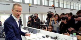 Alman otomobil üreticisi Volkswagen'in CEO'su Herbert Diess,