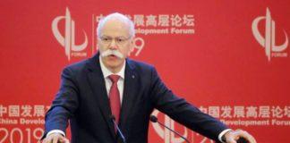 Daimler CEO'su Dieter Zetsche