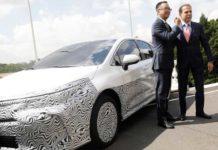 Toyota, Brezilya'da üretilen ilk hibrid aracı satacak